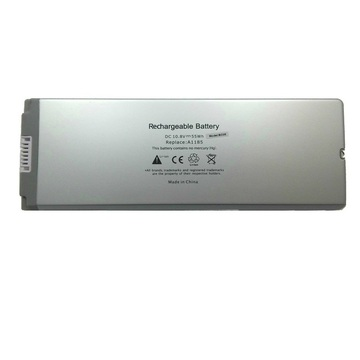 "PowerPlant Apple MacBook 13"" White (A1185) 10,8V 5200mAh (NB00000071)"