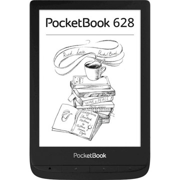 PocketBook 628 Touch Lux 5, Black
