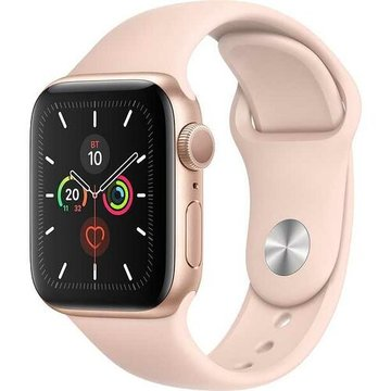 Apple Watch Series5 44mm Gold Aluminium Case with Pink Sand Sport Band GPS