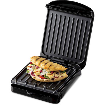 George Foreman 25800-56 Fit Grill Small Black