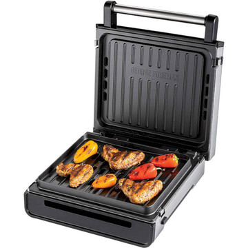 George Foreman 28000-56 Smokeless Grill White\Steel
