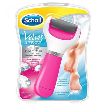 Scholl Velvet Smooth Diamond Crystals Pink