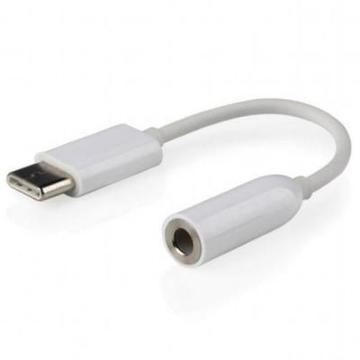 Type-C to Jack 3.5mm female Cablexpert (CCA-UC3.5F-01-W)