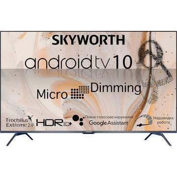 Skyworth 50G3A AI Micro Dimming Android TV 10.0