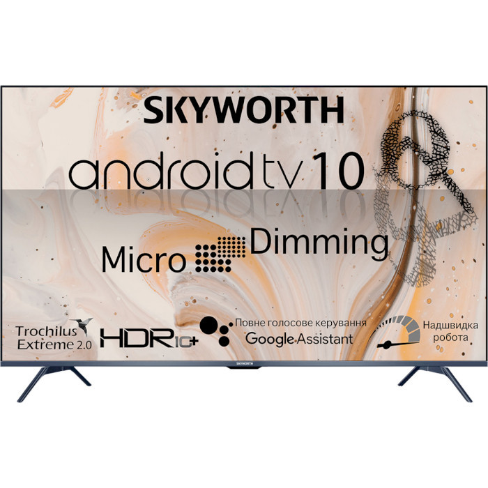 Телевізор Skyworth 50G3A AI Micro Dimming Android TV 10.0