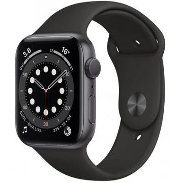 Apple Watch Series 6 GPS, 40mm Space Gray Aluminium Case with Blac (MG133UL/A)