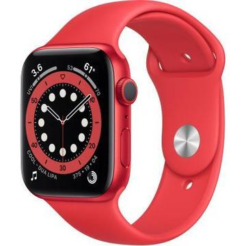 Apple Watch Series 6 GPS, 44mm PRODUCT(RED) Aluminium Case with PR (M00M3UL/A)