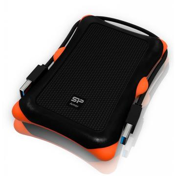 Silicon Power Armor A30 2TB 2.5 USB 3.0 External Black (SP020TBPHDA30S3K)