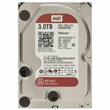 Western Digital Red 3TB 5400rpm 64MB 3.5 SATA III (WD30EFRX)