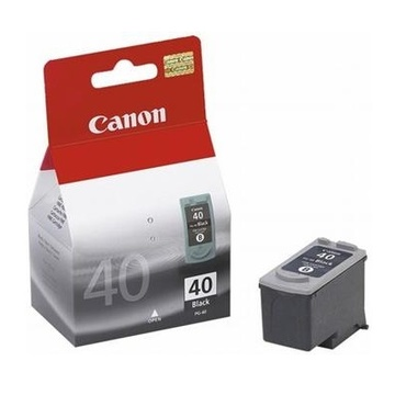 Canon PG-40Bk iP1600/1700/1800/2200/2500, MP150/170/450, Fax JX200/500