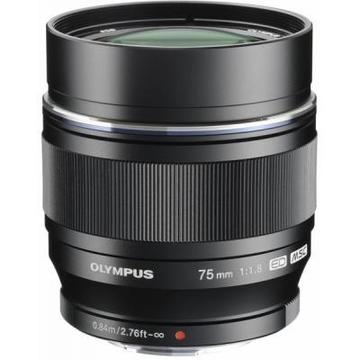 Olympus ET-M7518 75mm 1:1.8 Black (V311040BE000)