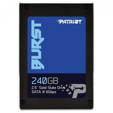 "Patriot SSD 240Gb Burst SATA III 2.5"" TLC (PBU240GS25SSDR)"