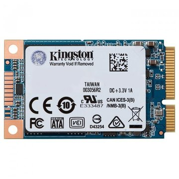 Kingston SSD 480GB UV500 mSATA SATAIII 3D TLC (SUV500MS/480G)