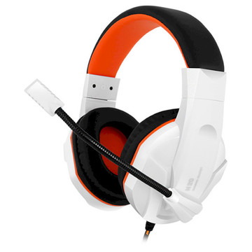 Gemix N20 White/Black/Orange Gaming