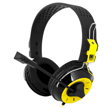 Gemix N4 Black/Yellow Gaming