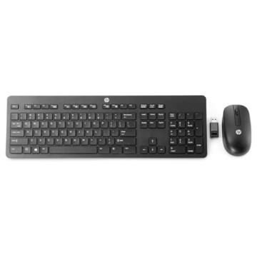 HP Wireless Business Slim Keyboard and Mouse Black