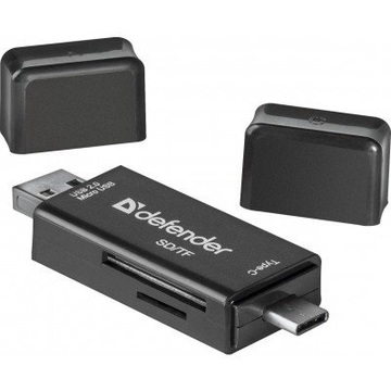 Defender Card Reader Multi Stick USB2.0 Type A/B/C - SD/TF