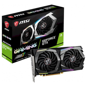 MSI GeForce GTX 1660 6GB GDDR5 (GTX_1660_GAMING_6G)