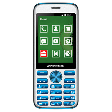 Assistant AS-204 Dual Sim Blue