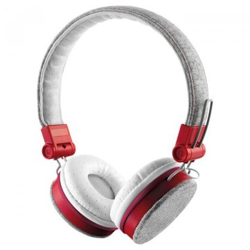 Trust Urban Revolt Fyber Headphone Grey-Red