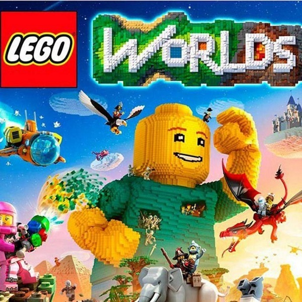 LEGO Worlds [PS4 Russian version]