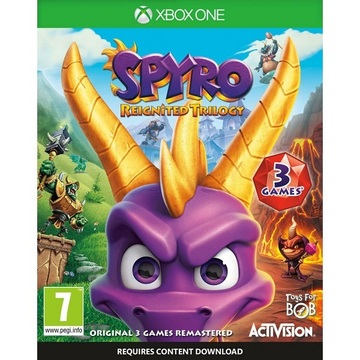 Xbox One Spyro Reignited Trilogy [BluRay ]