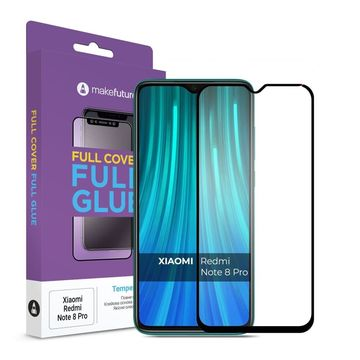 MakeFuture для Xiaomi Redmi Note 8 Pro Full Cover Full Glue, 0.33 mm