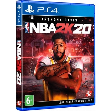 Sony NBA 2K20 [PS4, English version] Blu-ray диск