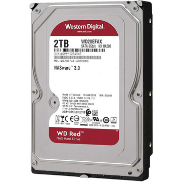 WD HDD SATA 2.0TB Red NAS 5400rpm 256MB (WD20EFAX)