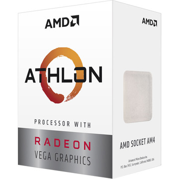 AMD Athlon 3000G 3.5GHz AM4 (YD3000C6FHBOX)