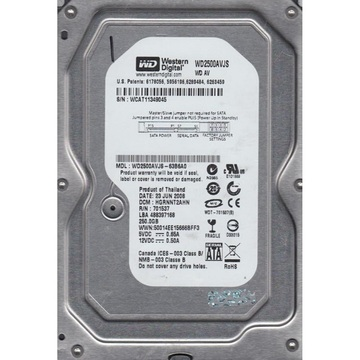 Western Digital  250Gb (WD2500AVJS)