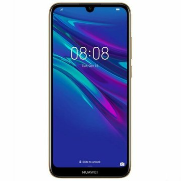 Huawei Y6 2019 Brown Faux Leather (51093PMR)
