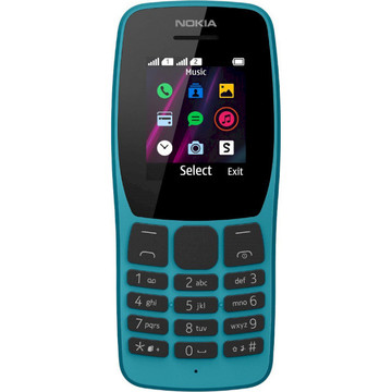Nokia 110 DS Blue (16NKLL01A04)