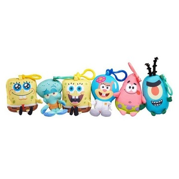 SpongeBob Mini Key Plush SpongeBob в ассорт.