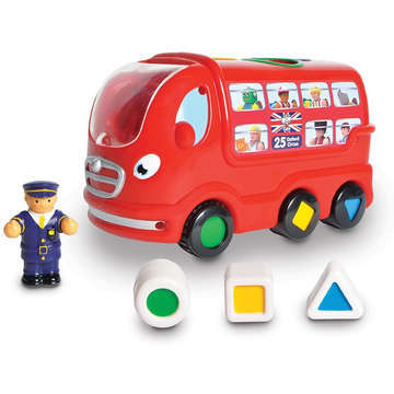 WOW Toys London Bus Leo Автобус Лео