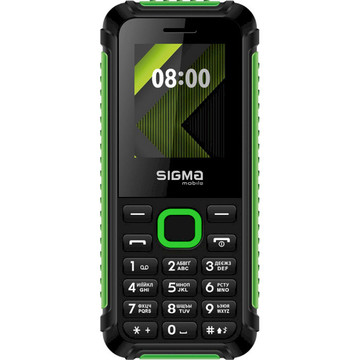 Sigma mobile X-style 18 Track Dual Sim Black/Green