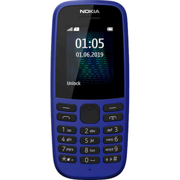 Nokia 105 2019 Single Sim Blue