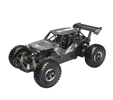 Автомобиль OFF-ROAD CRAWLER на р/к – SPEED KING (чорный металик, метал. корпус, акум. 6V, 1:14)