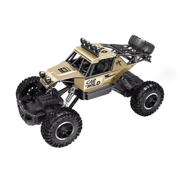 Автомобиль OFF-ROAD CRAWLER на р/у – CAR VS WILD (золотой, акум. 3,6V, метал. корпус, 1:20)