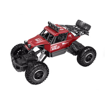Автомобиль OFF-ROAD CRAWLER на р/у – CAR VS WILD (красный, акум. 3,6V, метал. корпус, 1:20)
