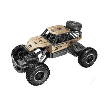 Автомобиль OFF-ROAD CRAWLER на р/у – ROCK SPORT (золотий, акум. 3,6V, метал. корпус, 1:20)