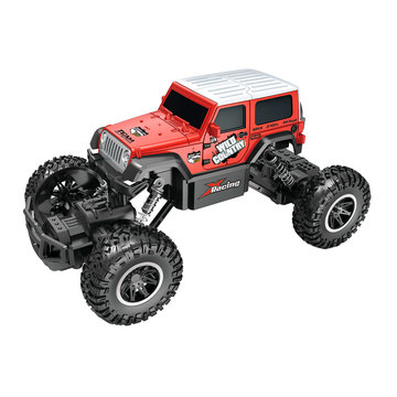 Автомобиль OFF-ROAD CRAWLER на р/у – WILD COUNTRY (красный, акум. 3,6V, 1:20)