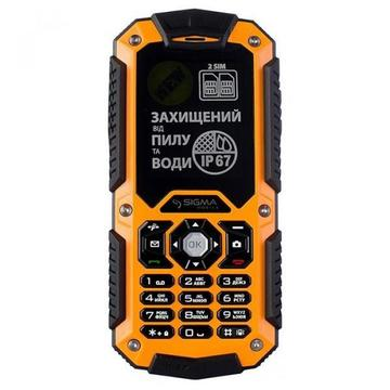 Sigma X-treme IT67 Dual Sim Orange