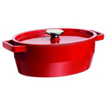 Pyrex Slow Cook red чугун овал 5.8л (SC5AC33)