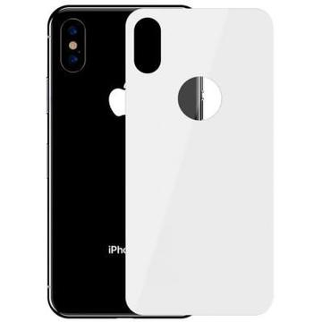 Baseus для iPhone XS, 0.3mm Full rear protector, White