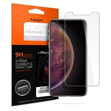 "Spigen для iPhone XR Glass ""Glas.tR SLIM HD"" (1Pack)"