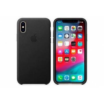 Apple iPhone XS Leather Case - Black, Model (MRWM2ZM/A)