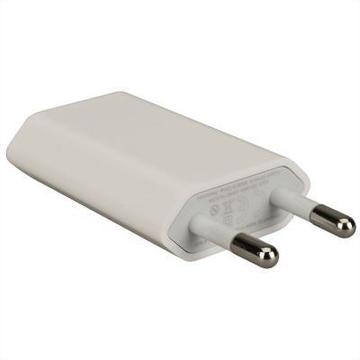 Apple iPod/iPhone USB Power Adapter (1USBx1A) White (MD813ZM/A)