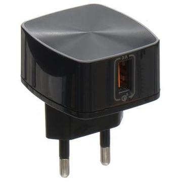 Remax 3A Quick Charger, Black